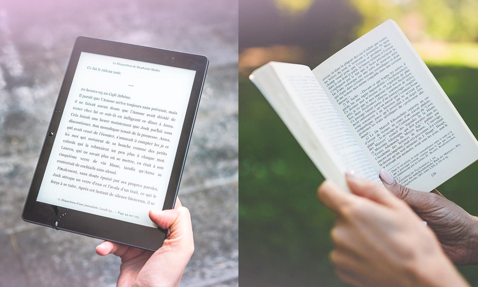 Livre papier ou liseuse: lequel a le meilleur bilan carbone?