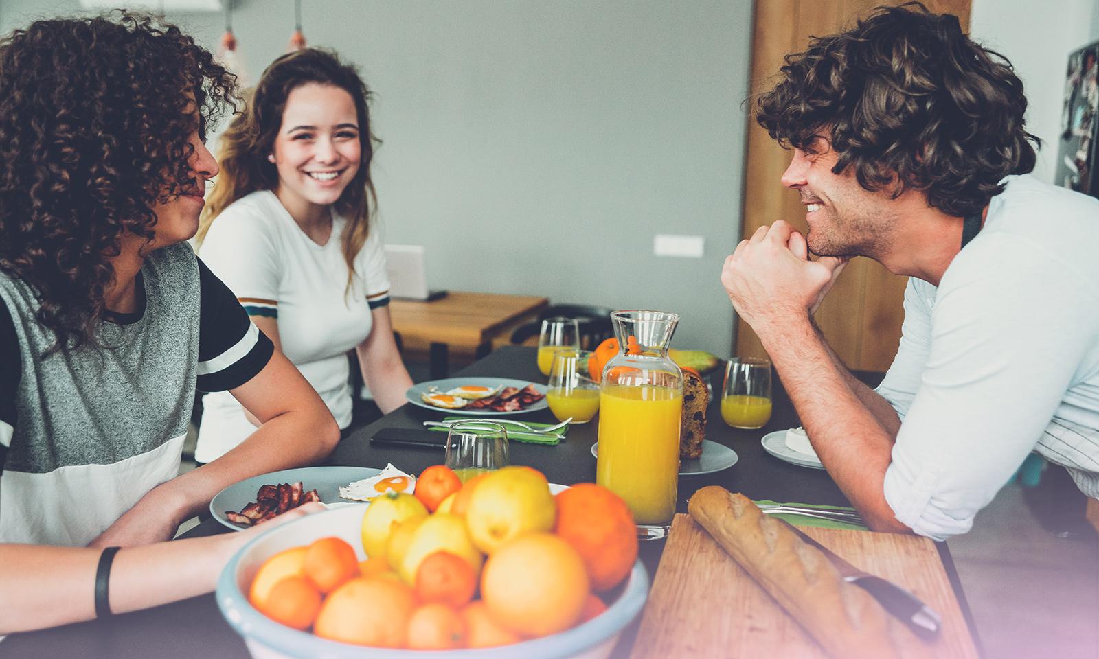 Vive les repas en famille… et sans écran!